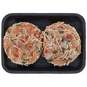 H-E-B Bruschetta Atlantic Salmon Burgers