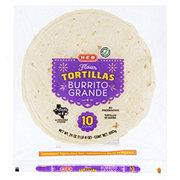 H-E-B Burrito Grande Flour Tortillas