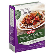 H-E-B Butter Chicken Dinner Kit