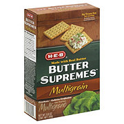 H-E-B Butter Supremes Multigrain Crackers