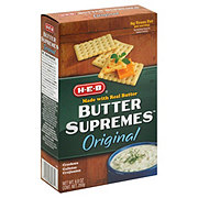 H-E-B Butter Supremes Original Crackers