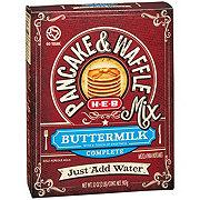 H-E-B Buttermilk Complete Pancake & Waffle Mix