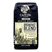H-E-B Cafe Ole Breakfast Blend Medium Roast Ground Coffee