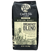 H-E-B Cafe Ole Breakfast Blend Medium Roast Whole Bean Coffee