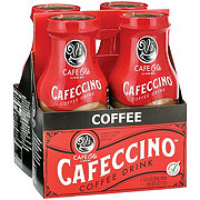 H-E-B Cafe Ole Cafeccino Coffee Drink 4 PK Bottles