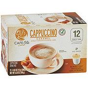 H-E-B Cafe Ole Caramel Cappuccino Single Serve Coffee Cups