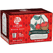 H-E-B Cafe Ole Christmas Kiss Cherry Chocolate Single Serve Coffee Cups