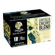 H-E-B Cafe Ole Coffee & Chicory Blend Medium Roast Single Serve Coffee Cups