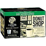 H-E-B Cafe Ole Donut Shop Blend Decaf Medium Roast Single Serve Coffee Cups