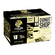 H-E-B Cafe Ole Donut Shop Blend Medium Roast Single Serve Coffee Cups