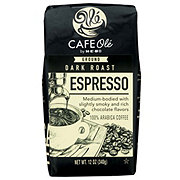 H-E-B Cafe Ole Espresso Dark Roast Ground Coffee