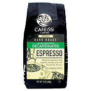 H-E-B Cafe Ole Espresso Decaf Dark Roast Ground Coffee