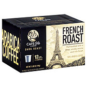 H-E-B Cafe Ole French Roast Dark Roast Single Serve Coffee Cups