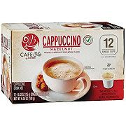 H-E-B Cafe Ole Hazelnut Cappuccino Single Serve Coffee Cups