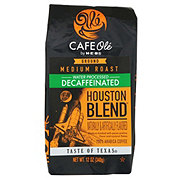 H-E-B Cafe Ole Houston Blend Decaf Medium Roast Ground Coffee