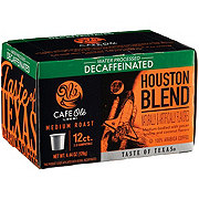H-E-B Cafe Ole Houston Blend Decaf Medium Roast Single Serve Coffee Cups