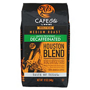 H-E-B Cafe Ole Houston Blend Decaf Medium Roast Whole Bean Coffee