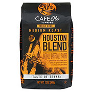 H-E-B Cafe Ole Houston Blend Medium Roast Whole Bean Coffee