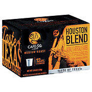 H-E-B Cafe Ole Houston Blend Taste of Texas Medium Roast Single Serve Coffee Cups