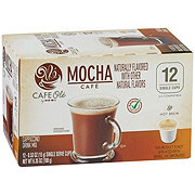 H-E-B Cafe Ole Mocha Cappuccino Single Serve Coffee Cups