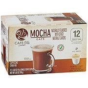 H-E-B Cafe Ole Mocha Cappuccino Single Serve Coffee Cups