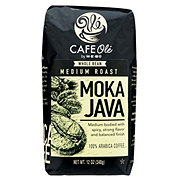 H-E-B Cafe Ole Moka Java Blend Medium Roast Whole Bean Coffee