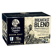 H-E-B Cafe Ole Organics Breakfast Blend Medium Roast Single Serve Coffee Cups