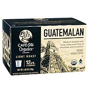 H-E-B Cafe Ole Organics Guatemalan Light Roast Single Serve Coffee Cups