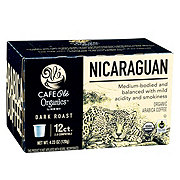 H-E-B Cafe Ole Organics Nicaragua Single Serve Coffee Cups