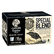 H-E-B Cafe Ole Organics Special Blend Medium Roast Single Serve Coffee Cups