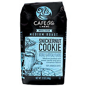 H-E-B Cafe Ole Snickernut Whole Bean Coffee