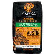 H-E-B Cafe Ole Taste of Austin Decaf Medium Roast Whole Bean Coffee