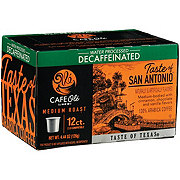 H-E-B Cafe Ole Taste of San Antonio Decaf Medium Roast Single Serve Coffee Cups