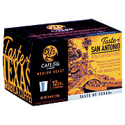 H-E-B Cafe Ole Taste of San Antonio Medium Roast Single Serve Coffee Cups