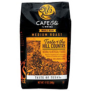 H-E-B Cafe Ole Taste of The Hill Country Medium Roast Whole Bean Coffee