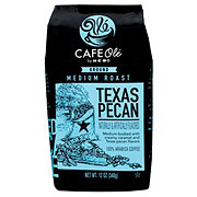 H-E-B Cafe Ole Texas Pecan Medium Roast Ground Coffee