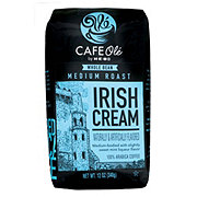H-E-B Cafe Ole Whole Bean Irish Creme Medium Roast Coffee
