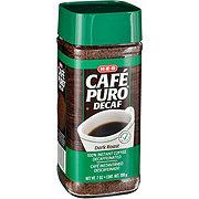 H-E-B Cafe Puro Instant Decaf Coffee