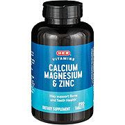 H-E-B Calcium Magnesium and Zinc Caplets