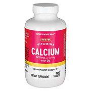 H-E-B Calcium & Vitamin D3 Tablets