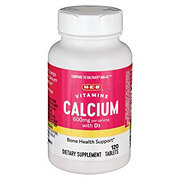 H-E-B Calcium & Vitamin D3 Tablets