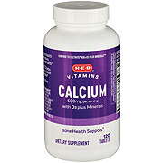 H-E-B Calcium with Vitamin D3 & Minerals