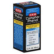 H-E-B Camphor Phenol Instant Pain Relief