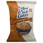 H-E-B Caramel Mini Rice Cakes