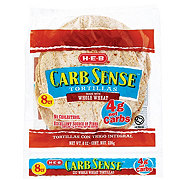 H-E-B Carb Sense Whole Wheat Tortillas