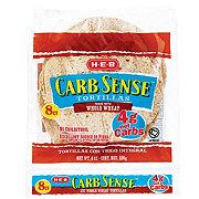 H-E-B Carb Sense Whole Wheat Tortillas