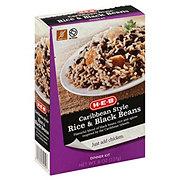 H-E-B Caribbean Style Rice & Black Beans Dinner Kit