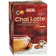 H-E-B Chai Latte Drink Mix Single Serve Cups