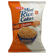 H-E-B Cheddar Mini Rice Cakes