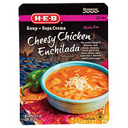 H-E-B Cheesy Chicken Enchilada Soup